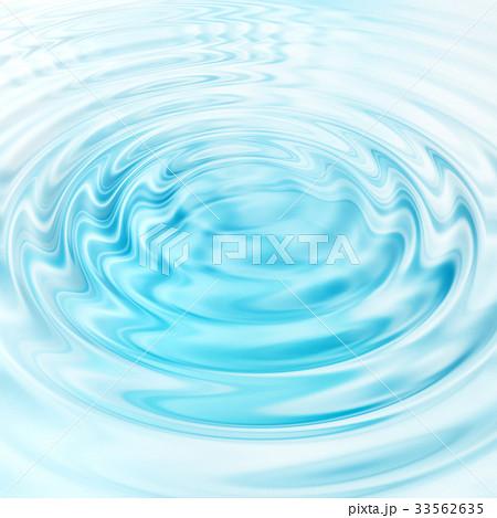 Abstract blue circular water ripples 33562635