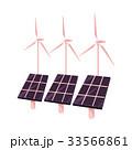 ベクトル 太陽 風のイラスト 33566861
