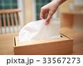 ティッシュペーパー (女性 ボディパーツ 顔なし エコロジー ちり紙 鼻紙 再利用 リサイクル) 33567273