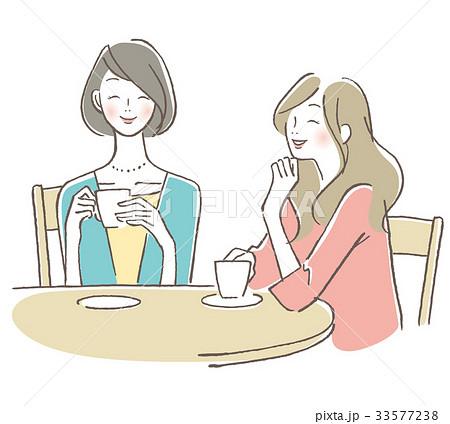 カフェ 女性 友達 33577238
