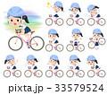 shortsleeved shirt Sailor suit_rode bicycle 33579524