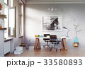 modern study room 33580893