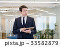 ビジネスマン ビジネス タブレットの写真 33582879