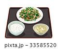 定食 チンジャオロース チンジャオロース定食のイラスト 33585520