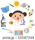 理科の実験をしている子供 33587348