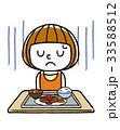女の子:食欲不振 33588512
