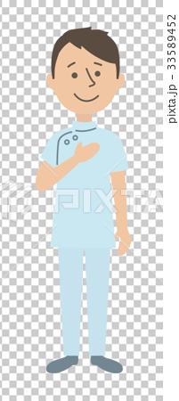 護士 白色背景 白底 33589452