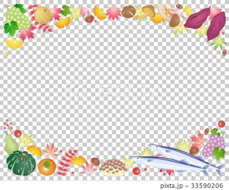 秋 味覚 旬 食 紅葉 33590206
