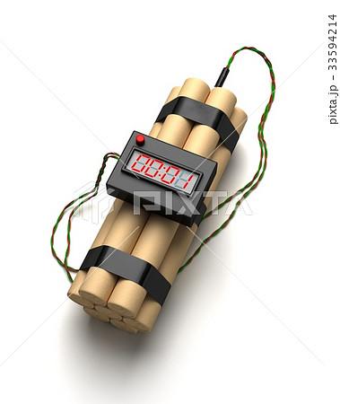 時限爆弾のイラスト素材 [33594214] - PIXTA