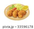食べ物 洋食 揚げ物のイラスト 33596178