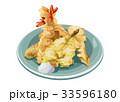 和食 揚げ物 天ぷらのイラスト 33596180
