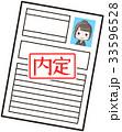 履歴書 就活 就職活動のイラスト 33596528