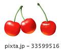 さくらんぼ パッケージイラスト リアルイラスト 33599516
