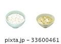 食べ物 ご飯 白米のイラスト 33600461