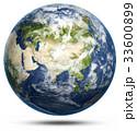 地球 ホワイト 白のイラスト 33600899