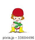 芋ほり 園児 33604496