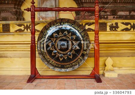 仏教 ビエンチャン 宗教の写真素材 [33604793] - PIXTA