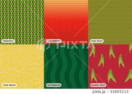 Colorful fruit skinのイラスト素材 [33605213] - PIXTA