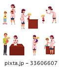 Pediatrician, doctor working with kids, chidren 33606607