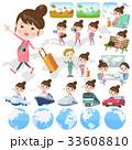 女性 人物 妊婦のイラスト 33608810