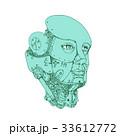 ヒューマノイド 人型 ロボットのイラスト 33612772
