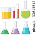 ビーカー ガラス製 化学のイラスト 33613612