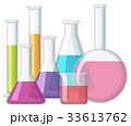 Beakers with chemical inside 33613762