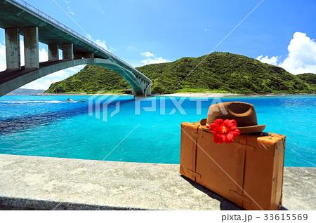 沖縄 慶良間諸島 阿嘉島 阿嘉港周辺の美しい風景【2017年8月撮影】 33615569