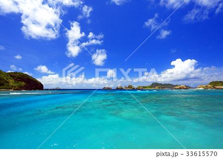 沖縄 慶良間諸島 阿嘉島 阿嘉港周辺の美しい風景【2017年8月撮影】 33615570