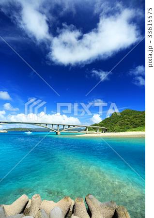 沖縄 慶良間諸島 阿嘉島 阿嘉港周辺の美しい風景【2017年8月撮影】 33615575