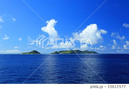 沖縄 船から見た慶良間諸島の俯瞰【2017年8月撮影】 33615577