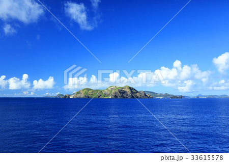 沖縄 船から見た慶良間諸島の俯瞰【2017年8月撮影】 33615578