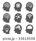 AI 人工知能 アイコンのイラスト 33619508