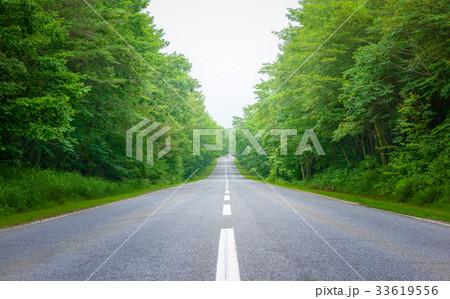 高原の道路、軽井沢。 33619556