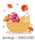 ハンドメイド 秋の素材 パッチワーク 33621593