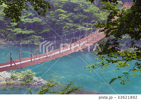 【静岡県・秘境】夢の吊り橋 寸又峡 33621892