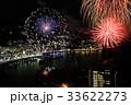 熱海100万ドルの夜景と海上花火 33622273