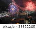 熱海100万ドルの夜景と海上花火 33622285