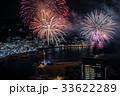 熱海100万ドルの夜景と海上花火 33622289