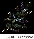フローラル パターン 柄のイラスト 33623598
