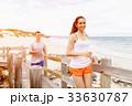 ビーチ 浜辺 カップルの写真 33630787