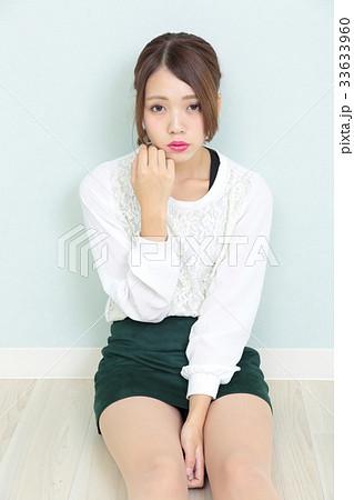 若い女性 ポートレート 33633960