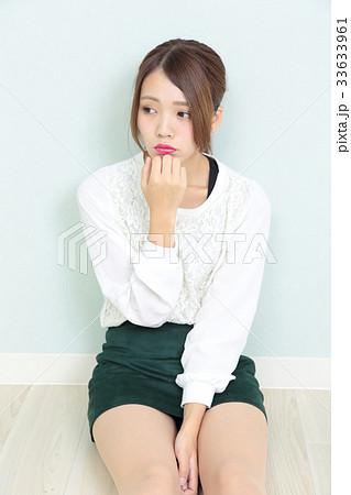 若い女性 ポートレート 33633961