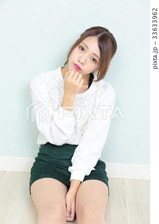 若い女性 ポートレート 33633962