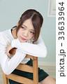 若い女性 ヘアスタイル ポートレート 33633964