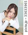 若い女性 ヘアスタイル ポートレート 33633965