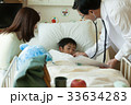 入院 医師 回診の写真 33634283