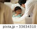 入院 医師 回診の写真 33634310