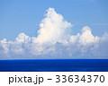 夏 入道雲 海の写真 33634370