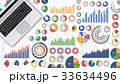 グラフ データ ビジネスのイラスト 33634496